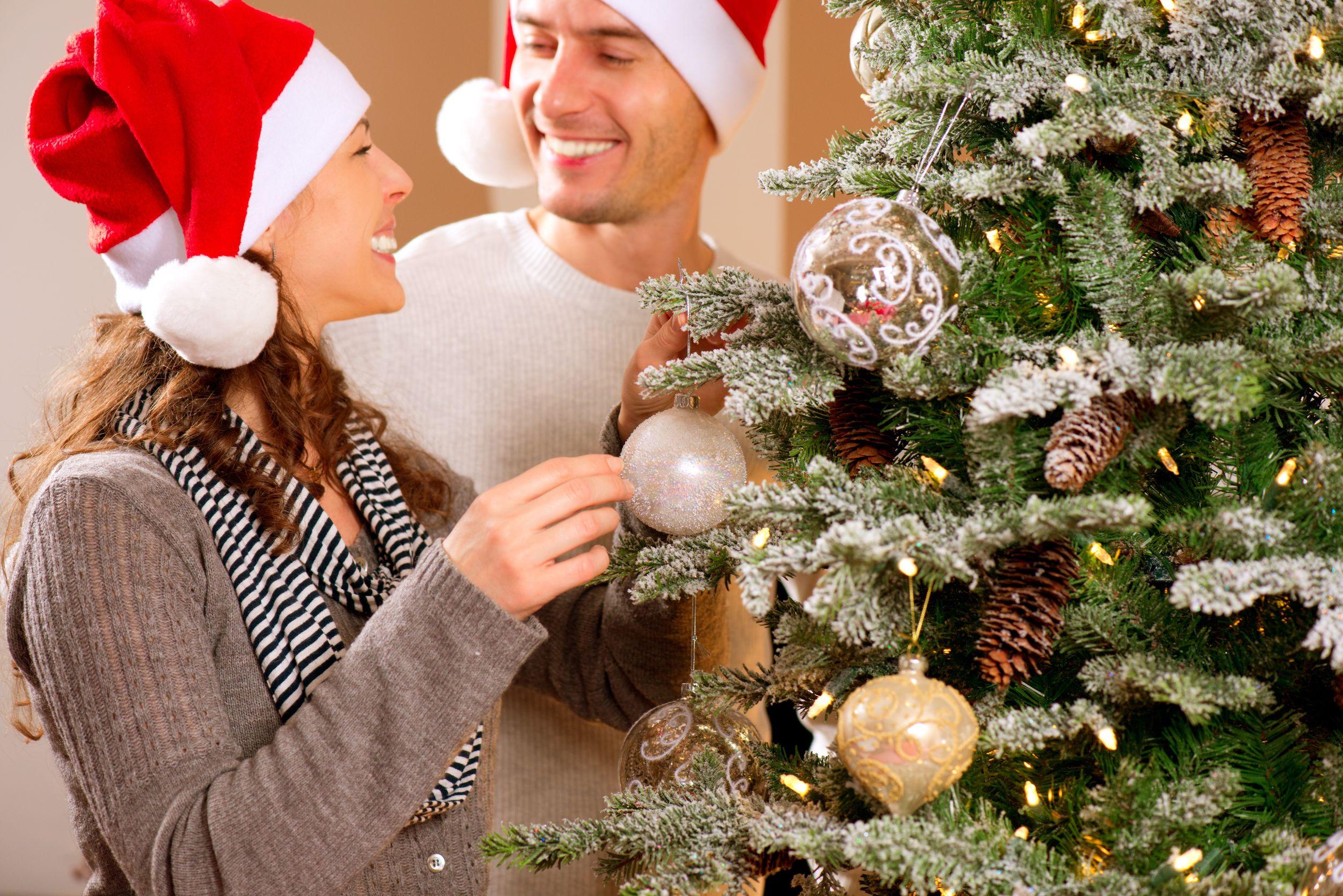 Как украсить мужчину на новый год