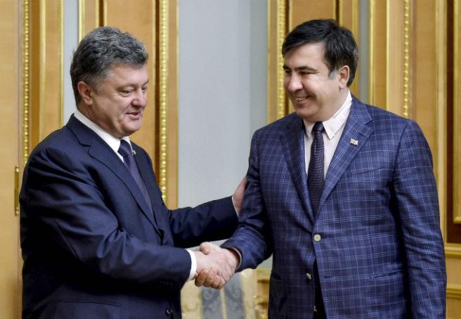 Saakaszwili �amie bandyckie schematy Odessy