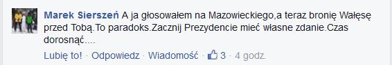 komentarz do wywiadu z Andrzejem Dud� w #dziejesienazywo