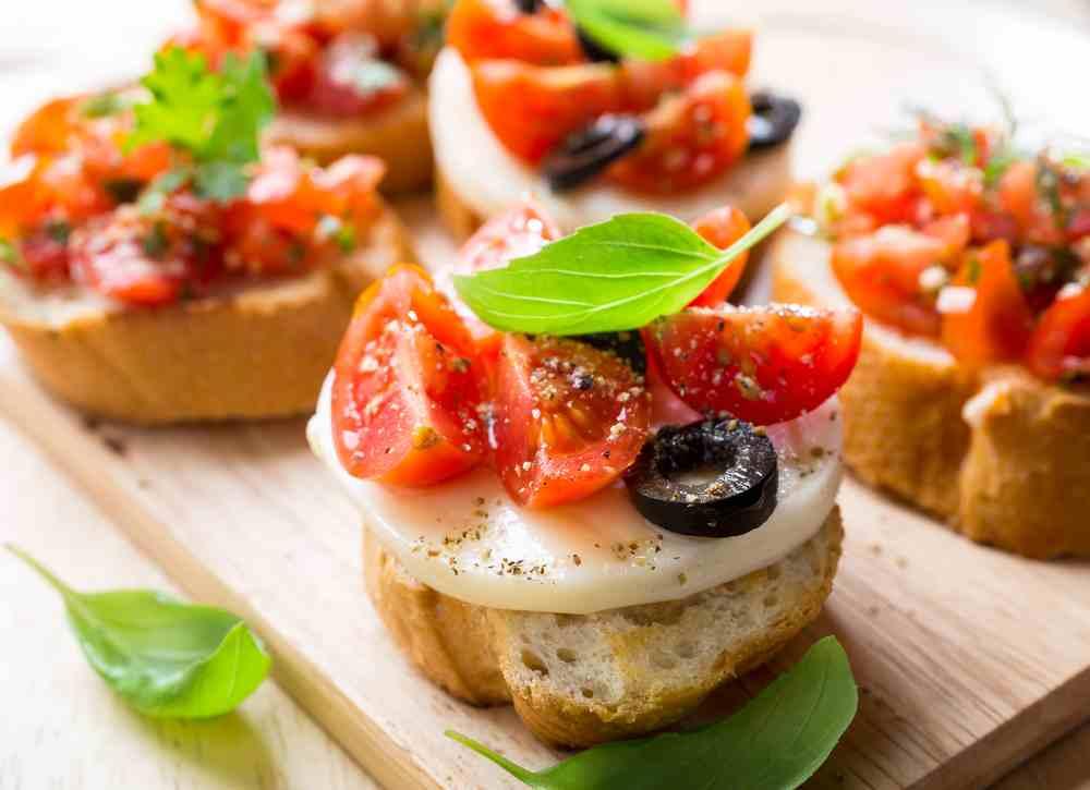 Итальянские горячие закуски с фото