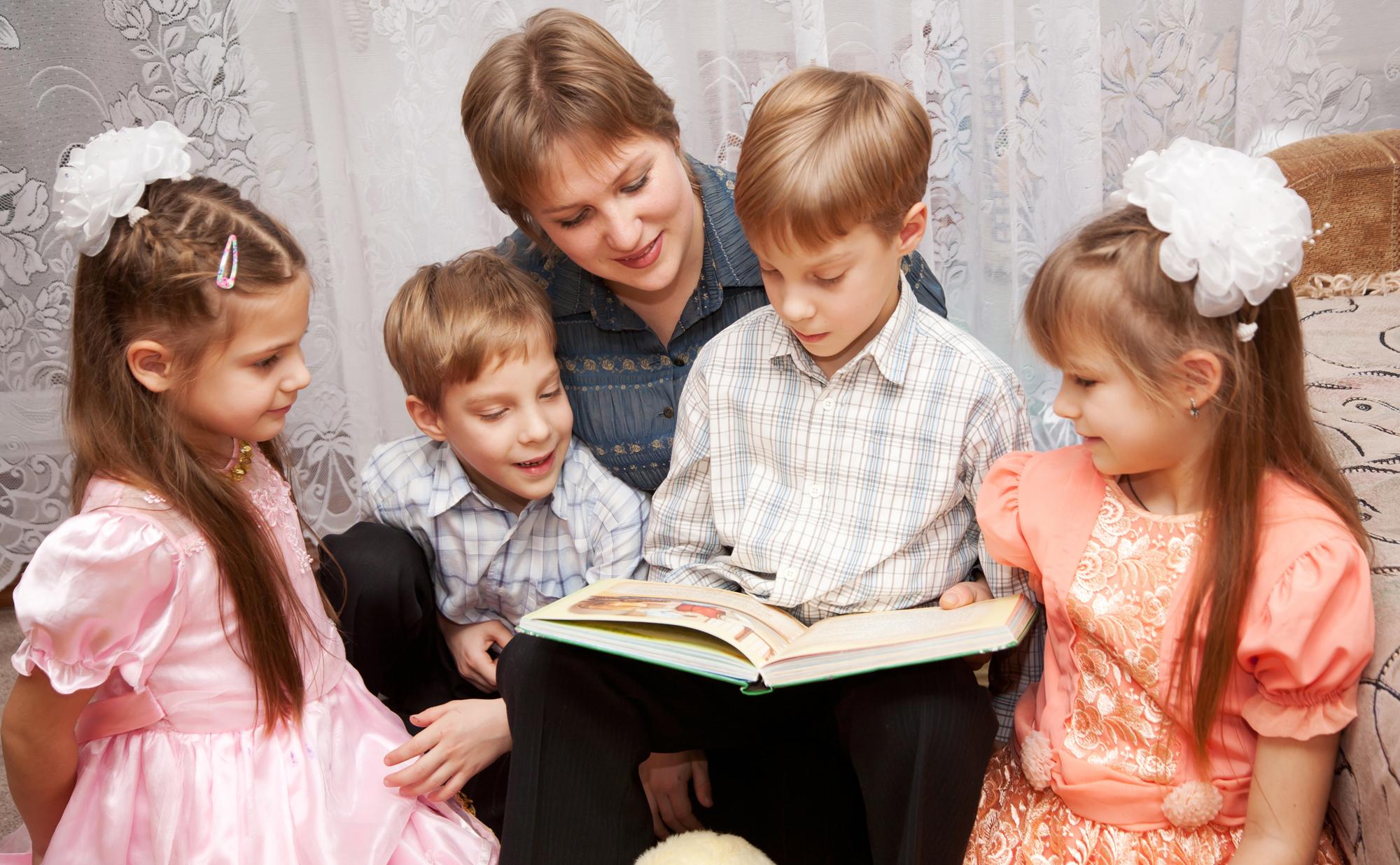 Мамы четырех детей фото