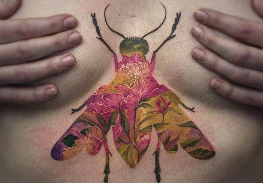 Niezwykłe Tatuaże Dwa W Jednym Widzisz To