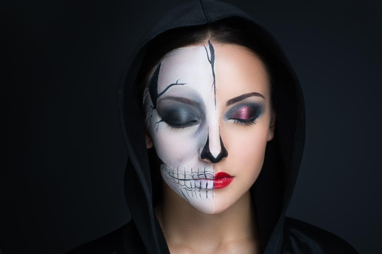 Makija na halloween nic trudnego wp kobieta for Pinturas de cara para halloween