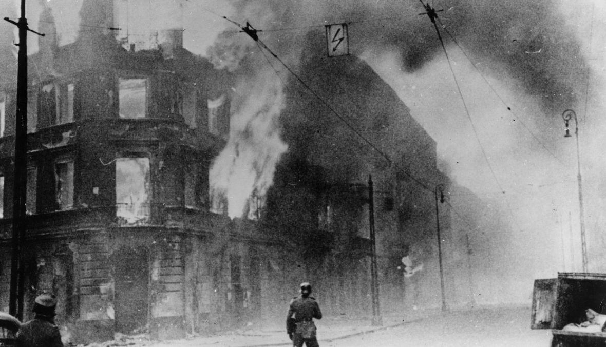 Pożar w getcie warszawskim