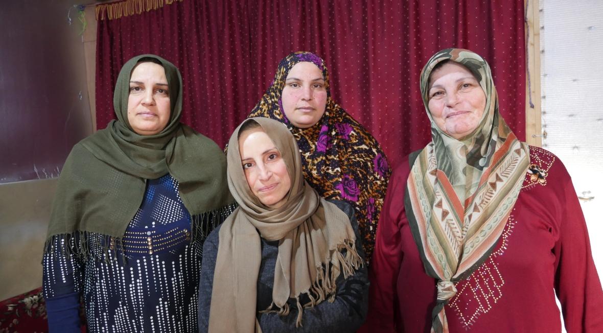 Amina, Hadija i inne kobiety z Obozu Wdów w libańskim Arsalu