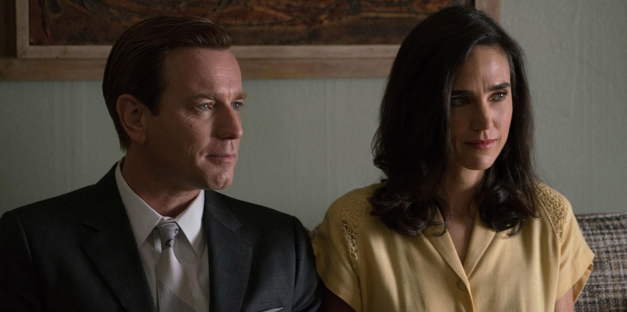 Szwed i jego idealna amerykańska żona. Kadr z filmu