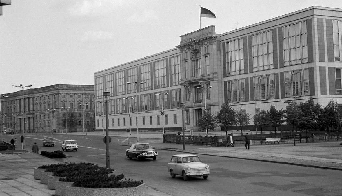 Berlin 1973, Staatsratsgebäude - budynek Rady Państwa w NRD