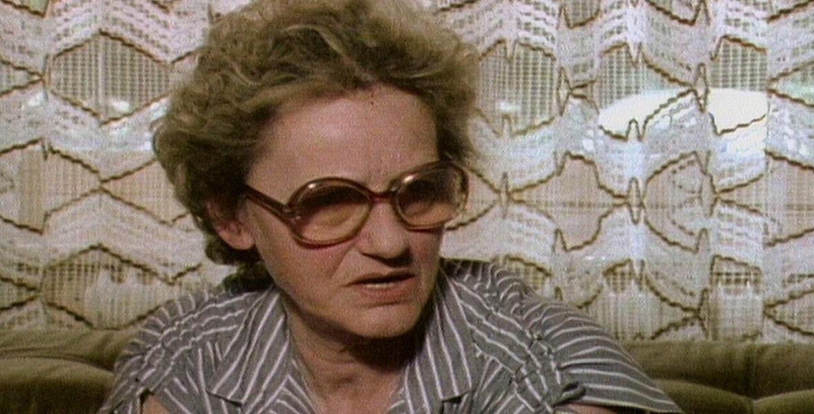 Erna Wallisch w 1980 roku. Zdjęcie z filmu dokumentalnego