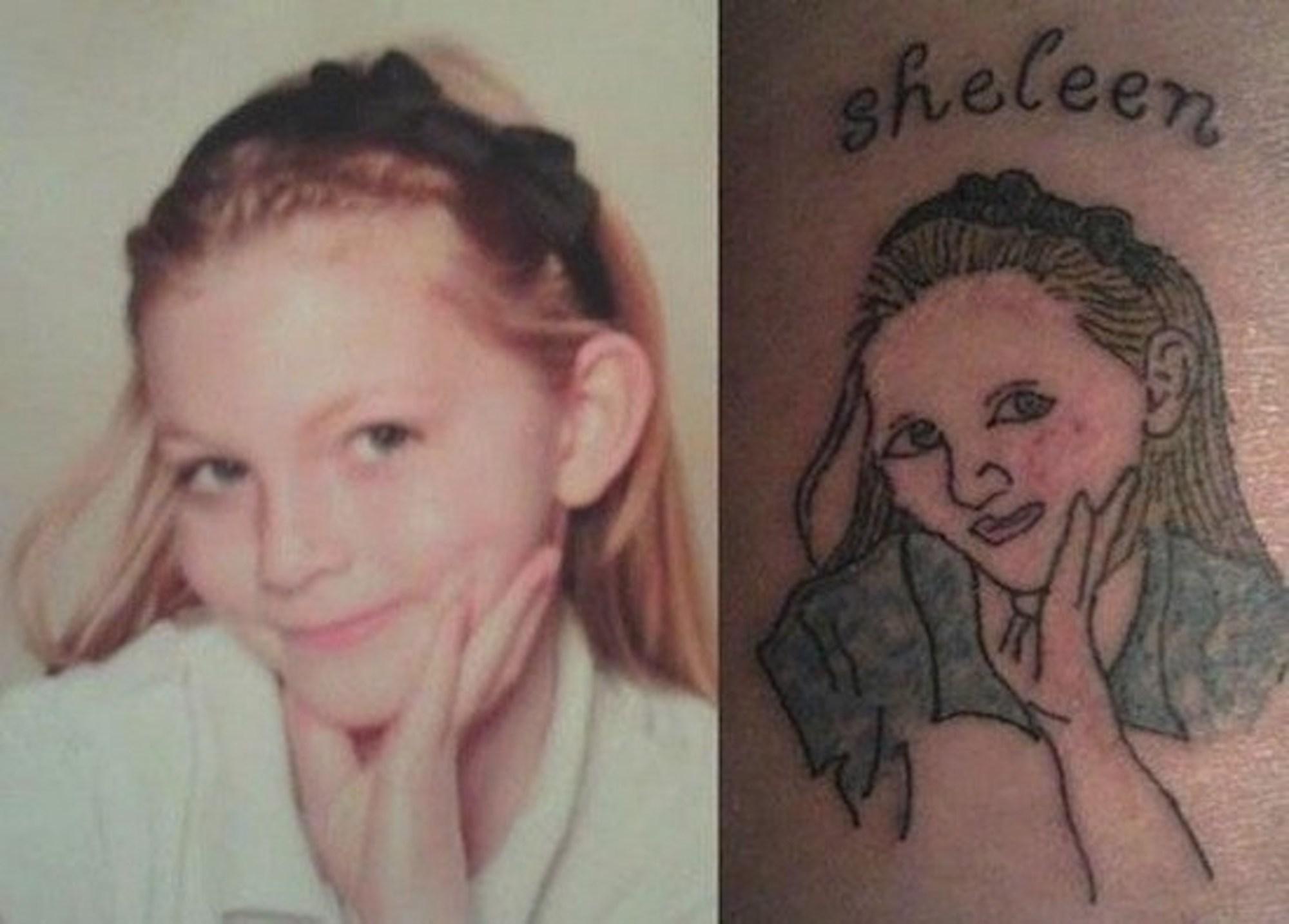 Bilderesultat for tatuagens que deram errado
