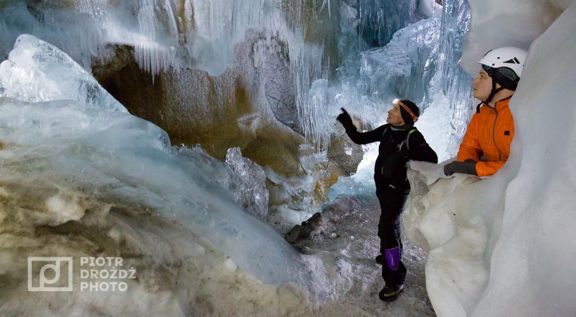 Gefrorene Wand, czyli Zamarznięta Ściana, a dokładnie jej ukryte pod lodowcem fundamenty