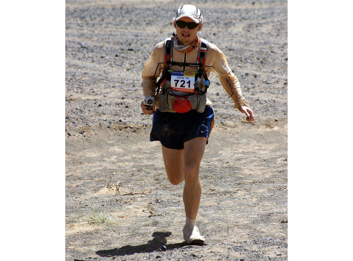 Stefan Batory podczas Maratonu Piasków