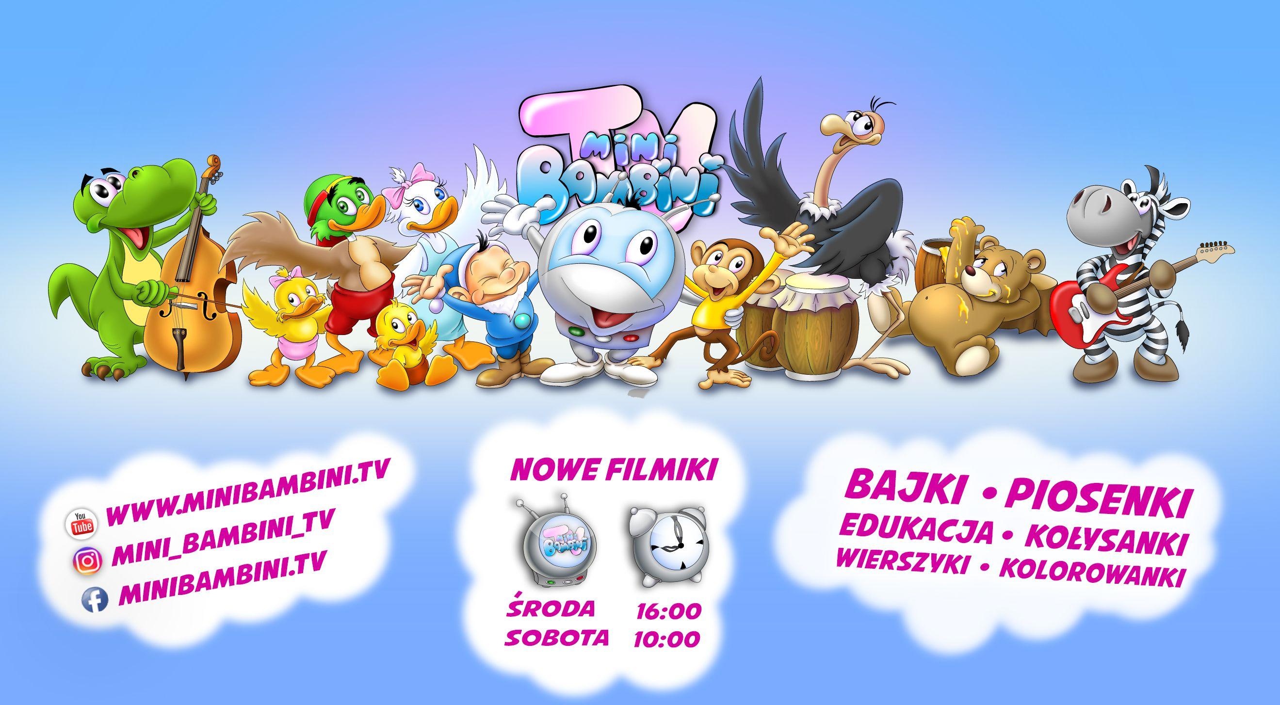 Idzie Grześ Prze Wieś Czyli Mini Bambini Tv W O2