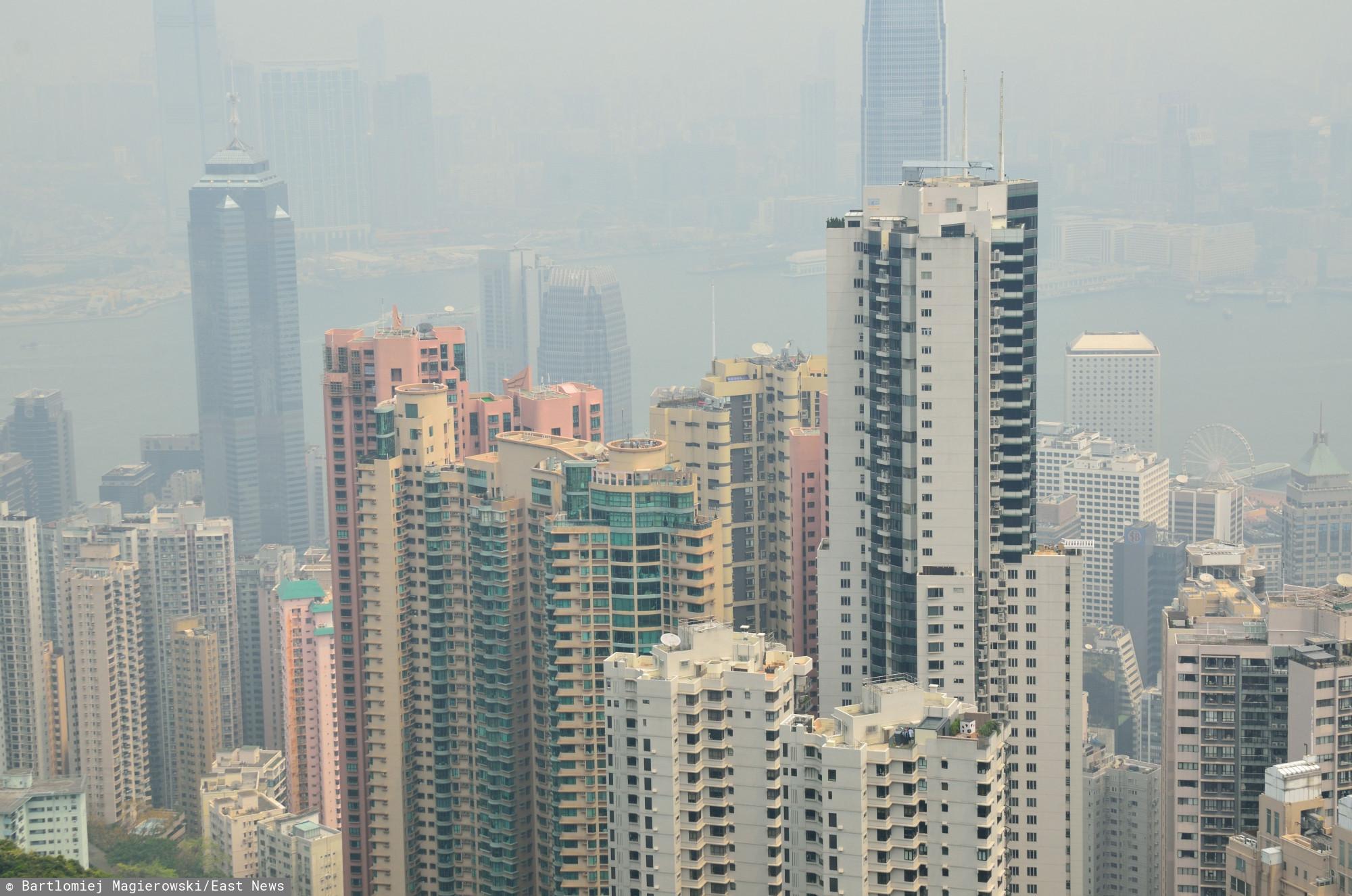 Hongkong. Lokalne media informują o śmierci 25-letniego Polaka