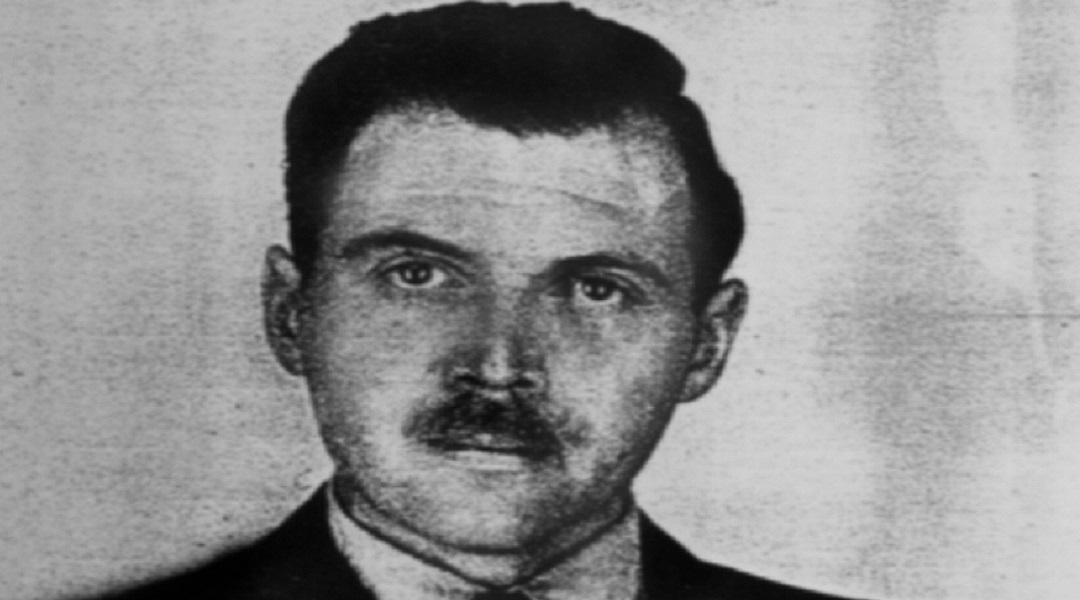 Josef Mengele. Zdjęcie zrobione przez policyjnego fotografa w 1956 roku w Buenos Aires.