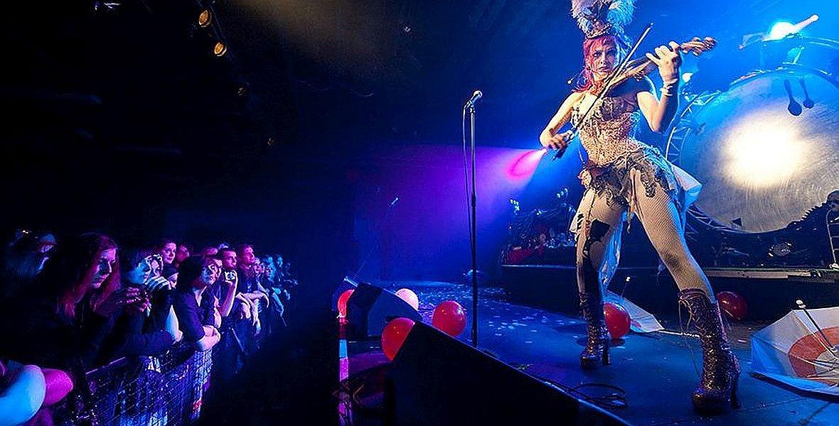 Klub Progresja. Koncert Emilie Autumn - amerykańskiej piosenkarki, poetki i skrzypaczki