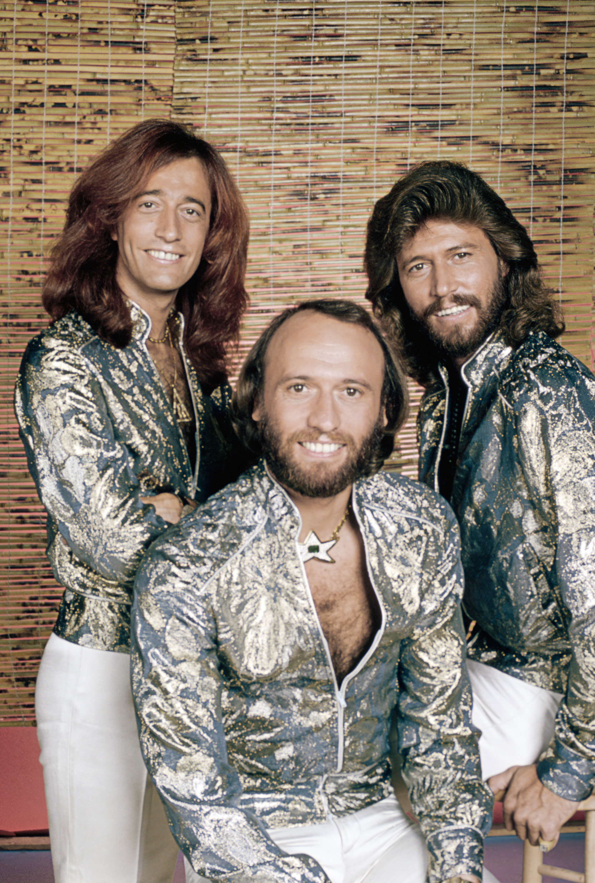 BEE GEES -- 1979 -- Pictured: The Bee Gees: (l-r) Robin Gibb, Maurice Gibb, Barry Gibb -- Photo by: NBCU Photo Bank