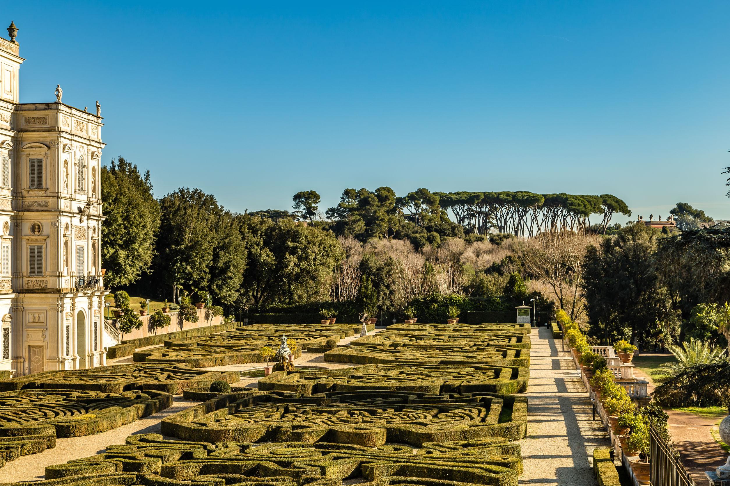 Villa Doria Pamphili w Rzymie