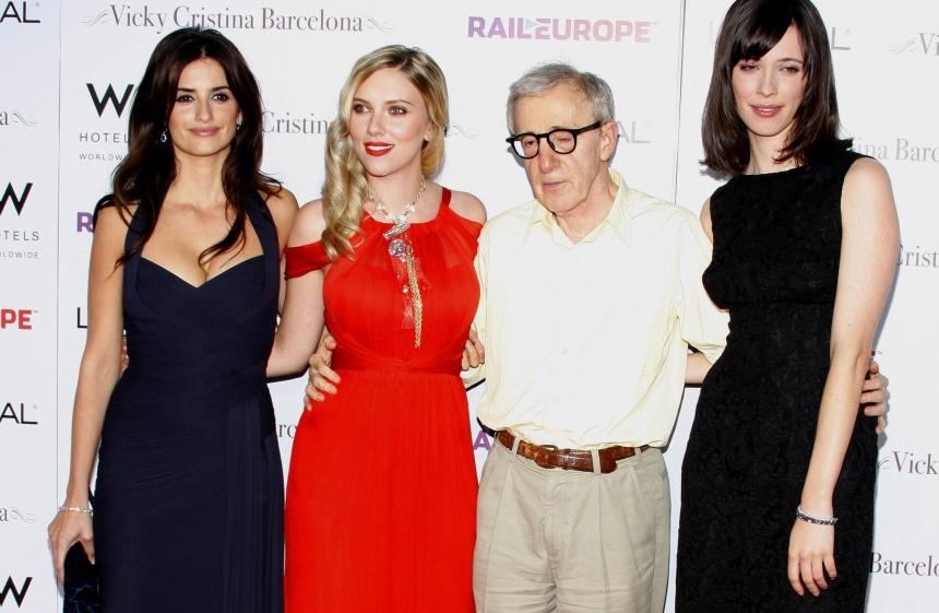 Woody Allen i jego muzy