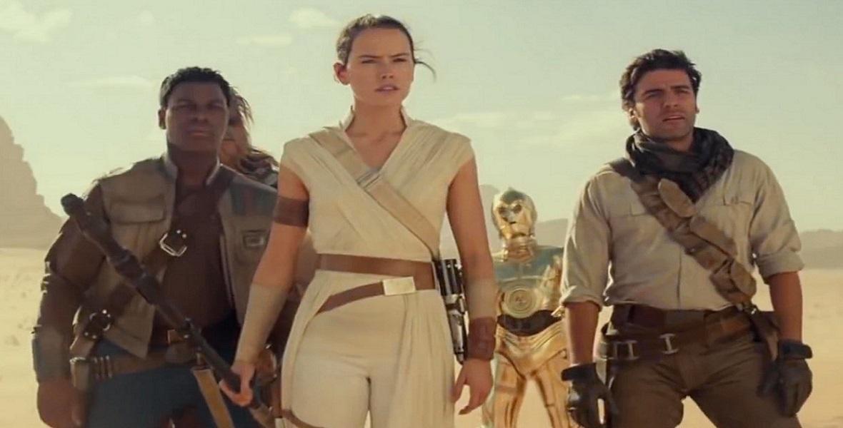 """Kadr z najnowszej części """"Gwiezdnych wojen"""" - """"Skywalker. Odrodzenie"""""""