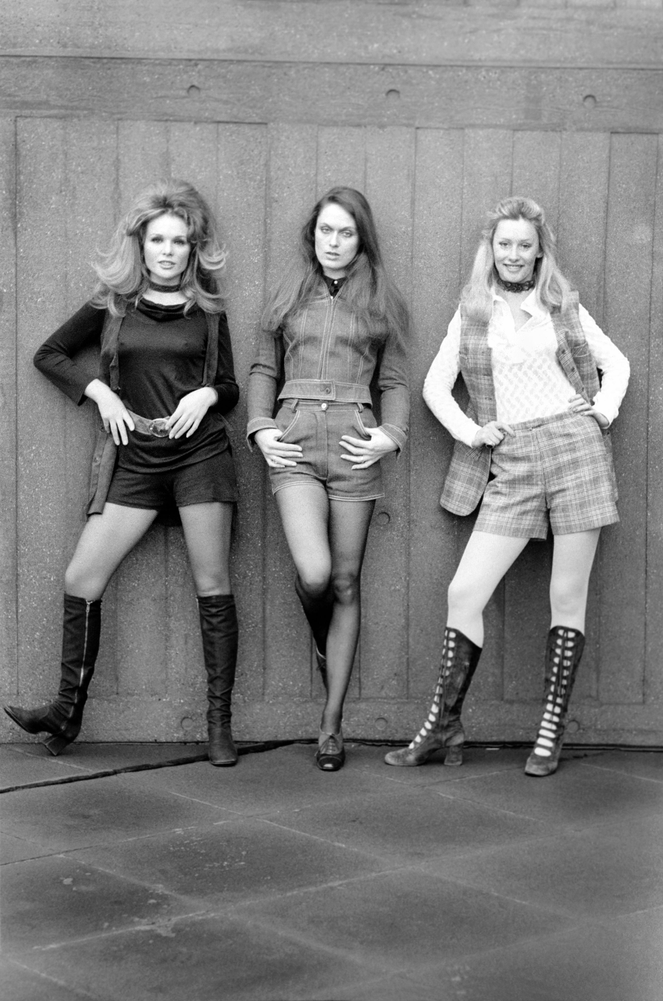 Sesja modowa na początku lat 70.