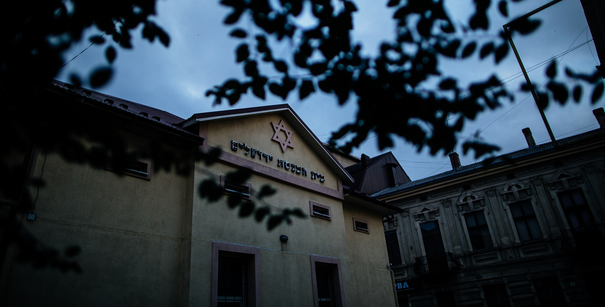 Przed wojną działało w Kołomyi kilkanaście synagog. Do dzisiaj przetrwała jedna.