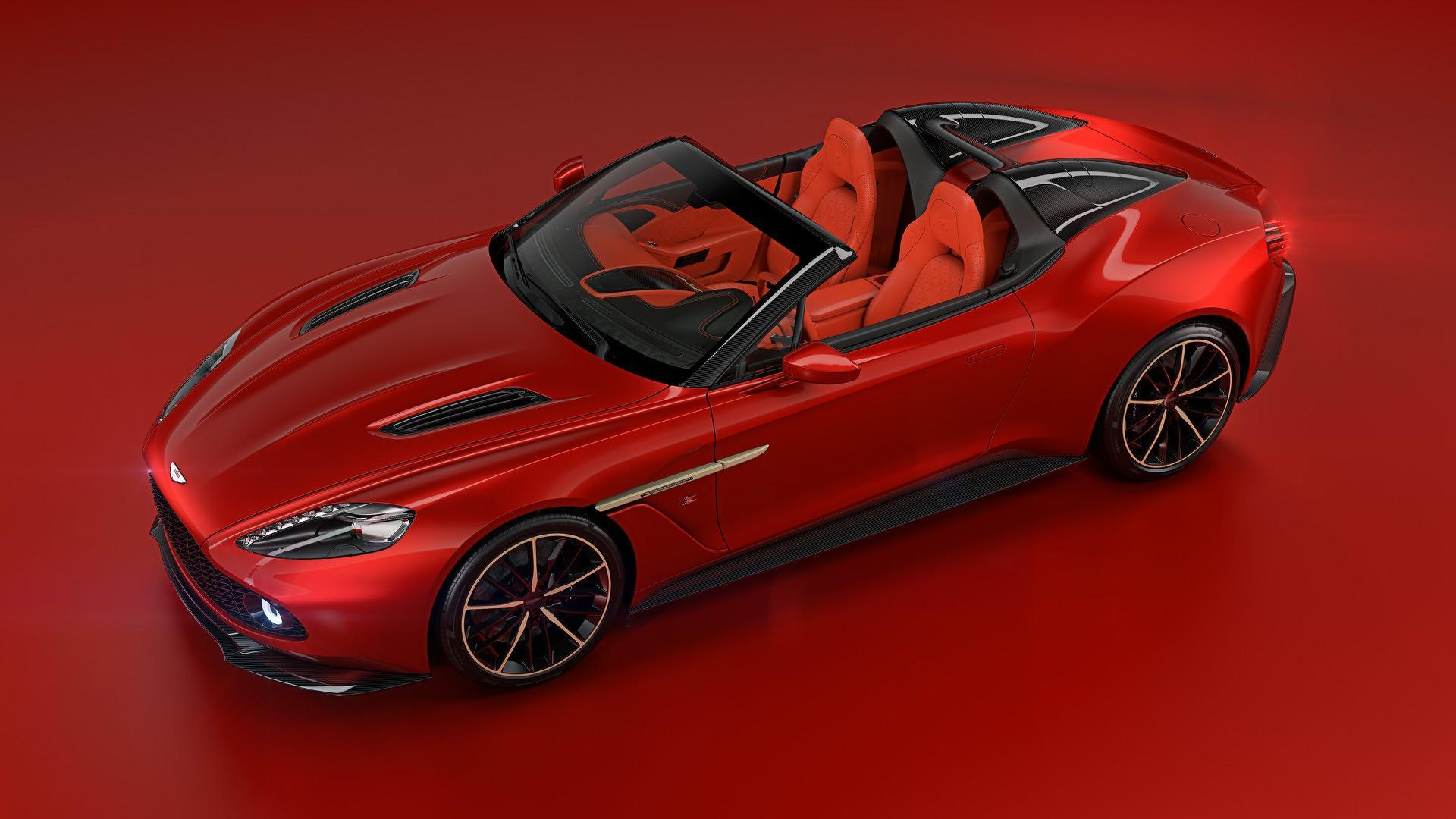 Aston Martin Vanquish Zagato Speedster zaprezentowany To najdroższy