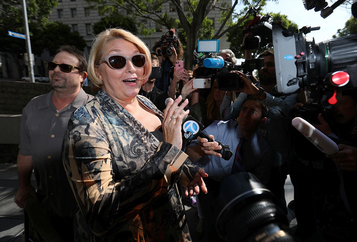 Samantha Geimer - zeznała w trakcie procesu, iż Polański zmusił ją do seksu.