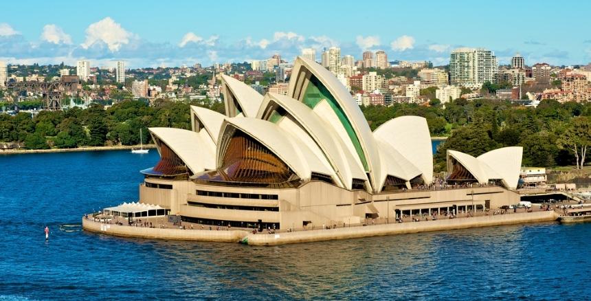 Sydney Opera House - obok kangurów to symbol Australii