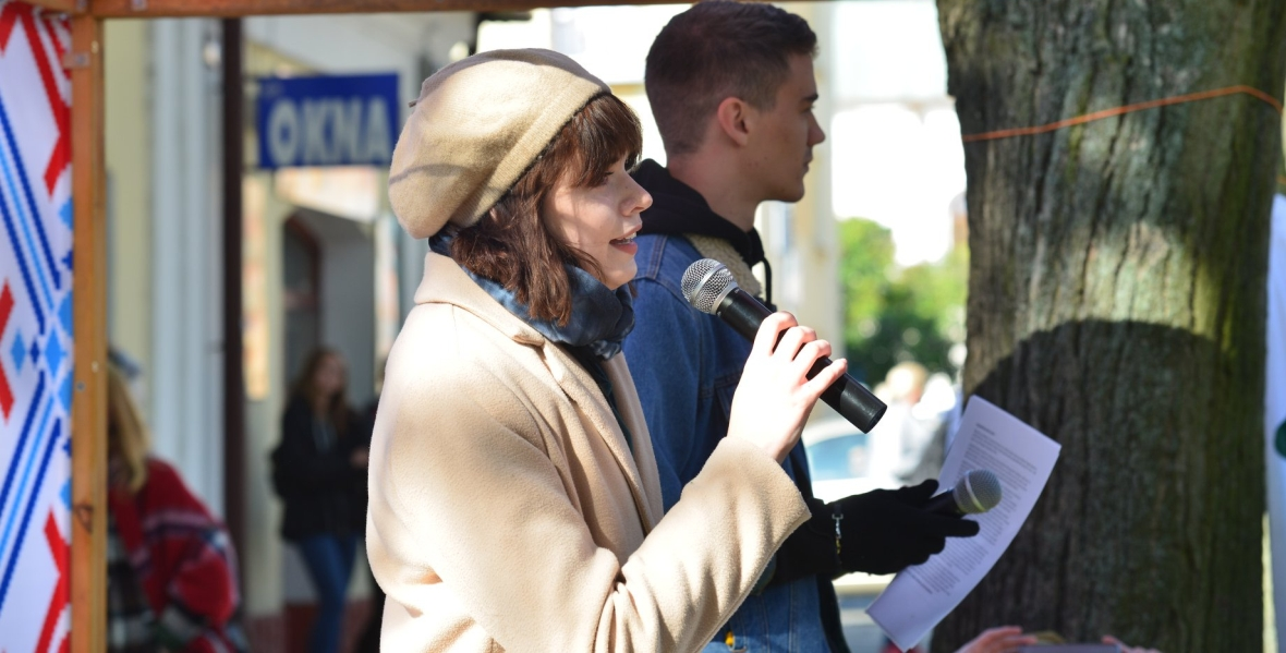 Gabriela Chomiczewska, działaczka Młodzieżowego Strajku Klimatycznego