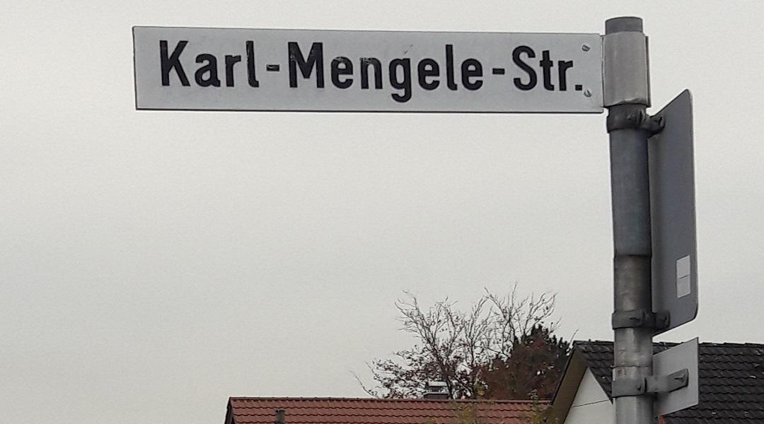 Ulica Karla Mengelego w Guenzburgu.