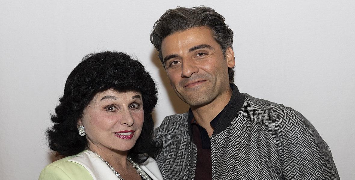 Oscar Isaac i Yola Czaderska-Hayek