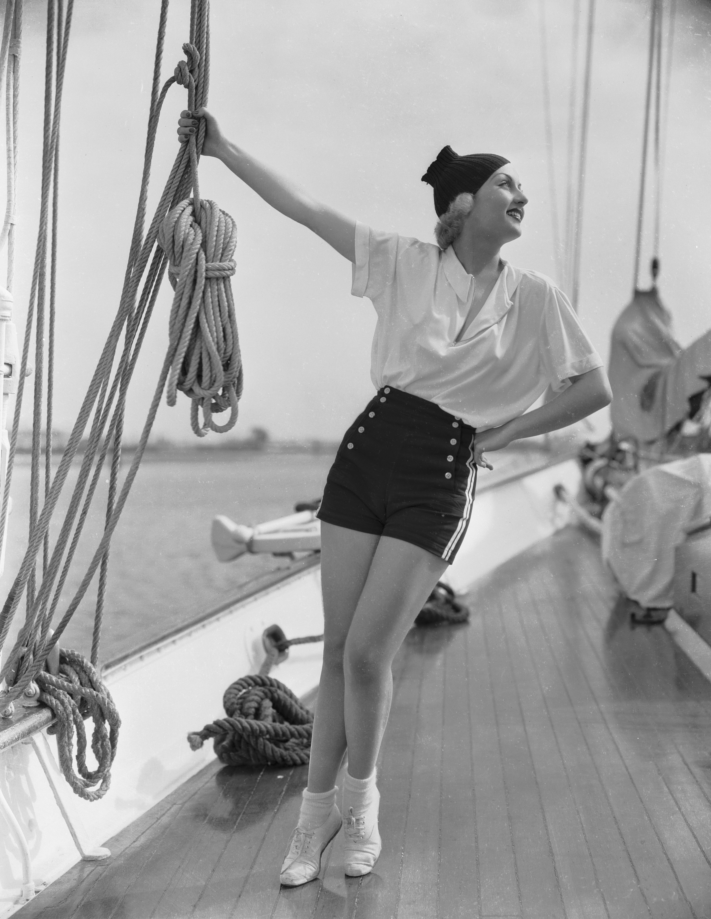 Amerykańska aktorka Carole Lombard w 1934 r.