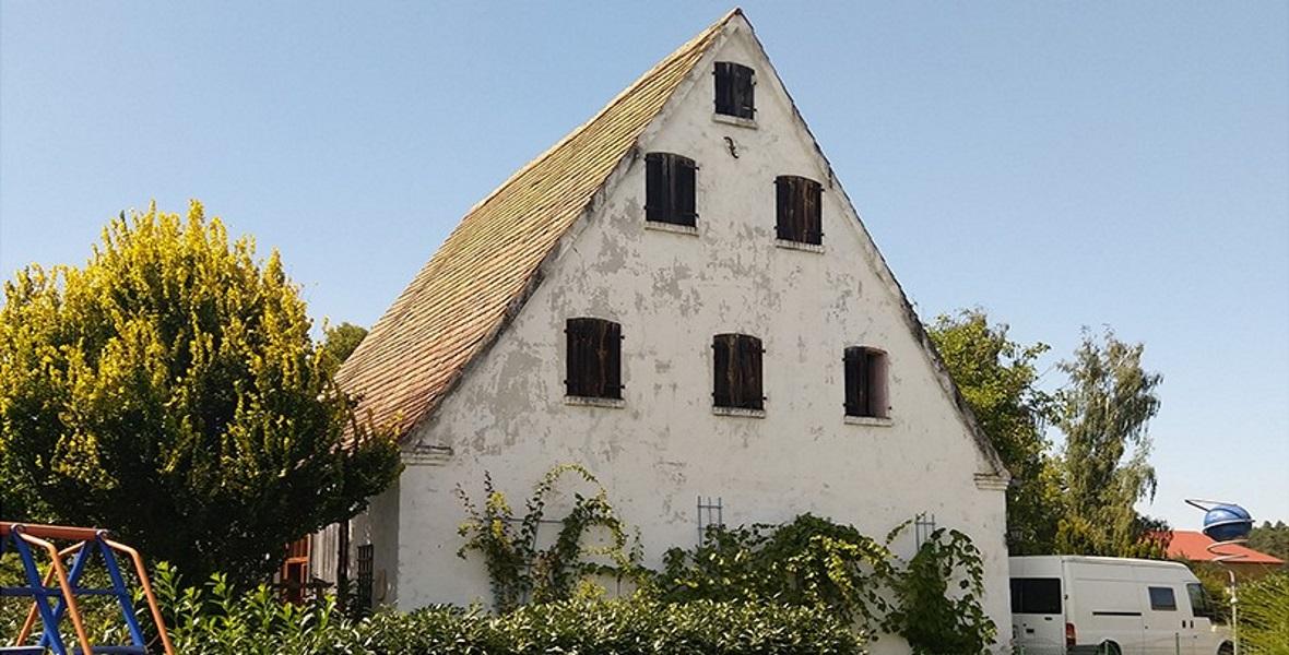 Dom w Laffenau, gdzie rodzina von dem Bach wynajmowała pokój po wojnie.
