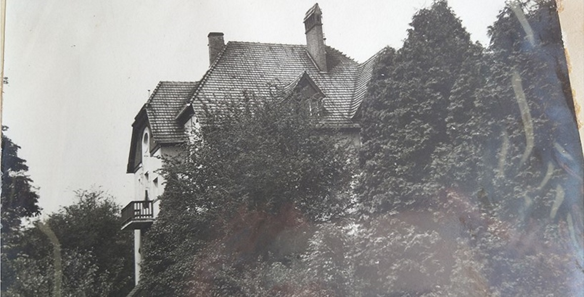 Dom w Sołtysowicach, gdzie od 1939 roku mieszkała rodzina von dem Bach.