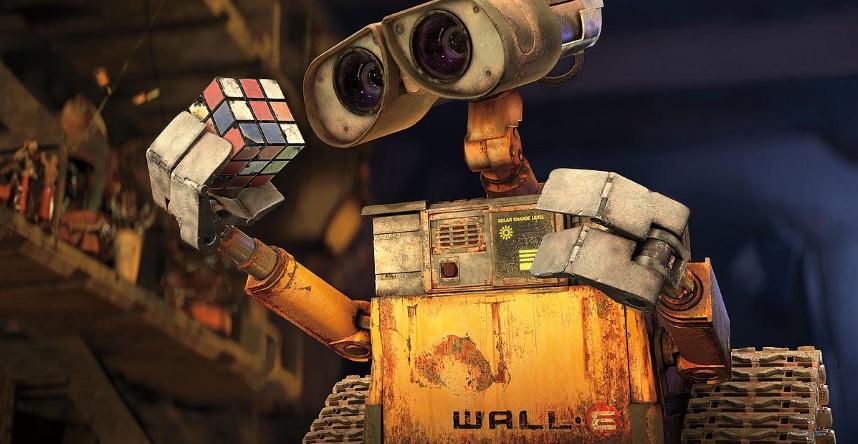 """Wall-e"" - robot też może kochać"