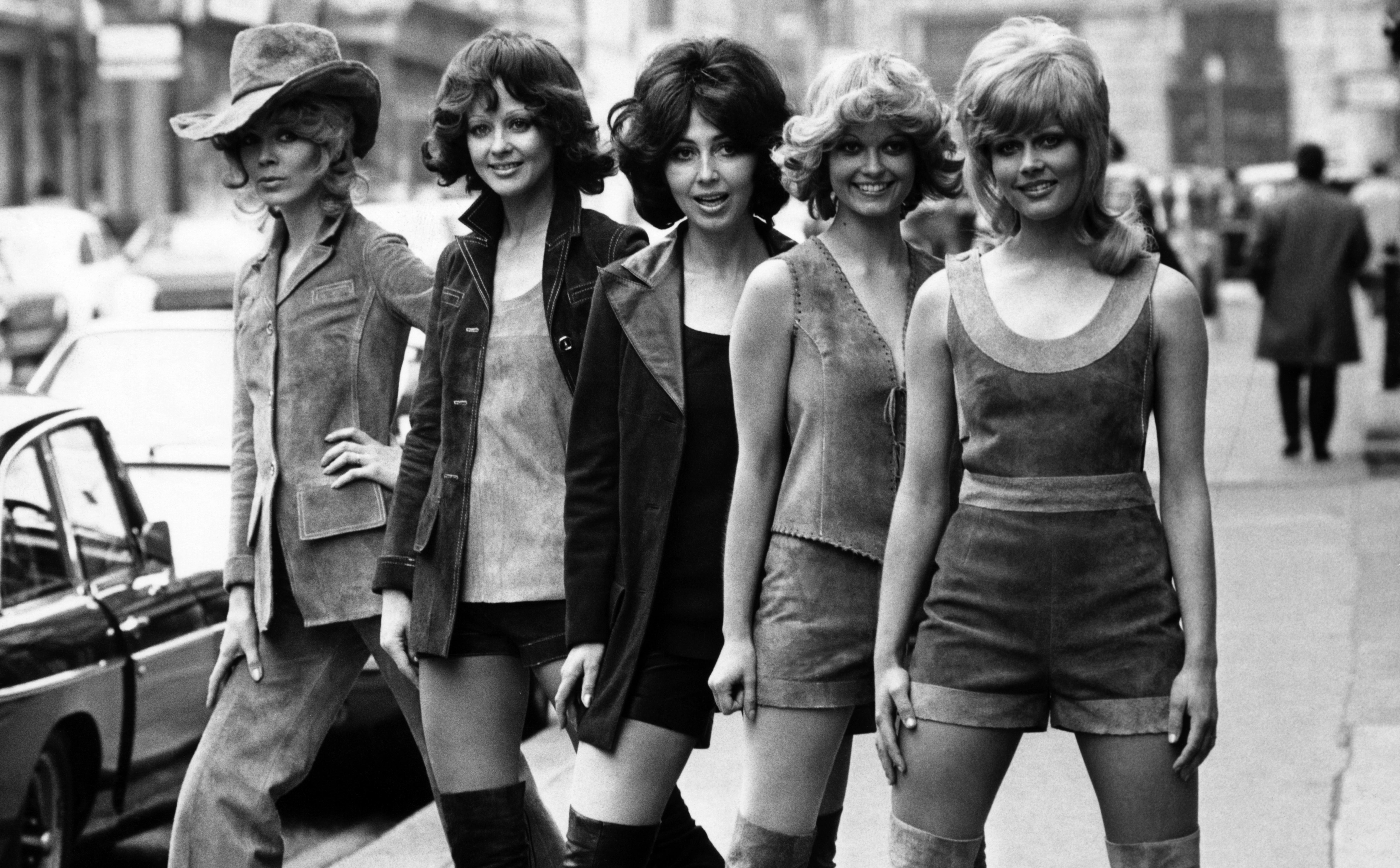Moda na szorty na początku lat 70.