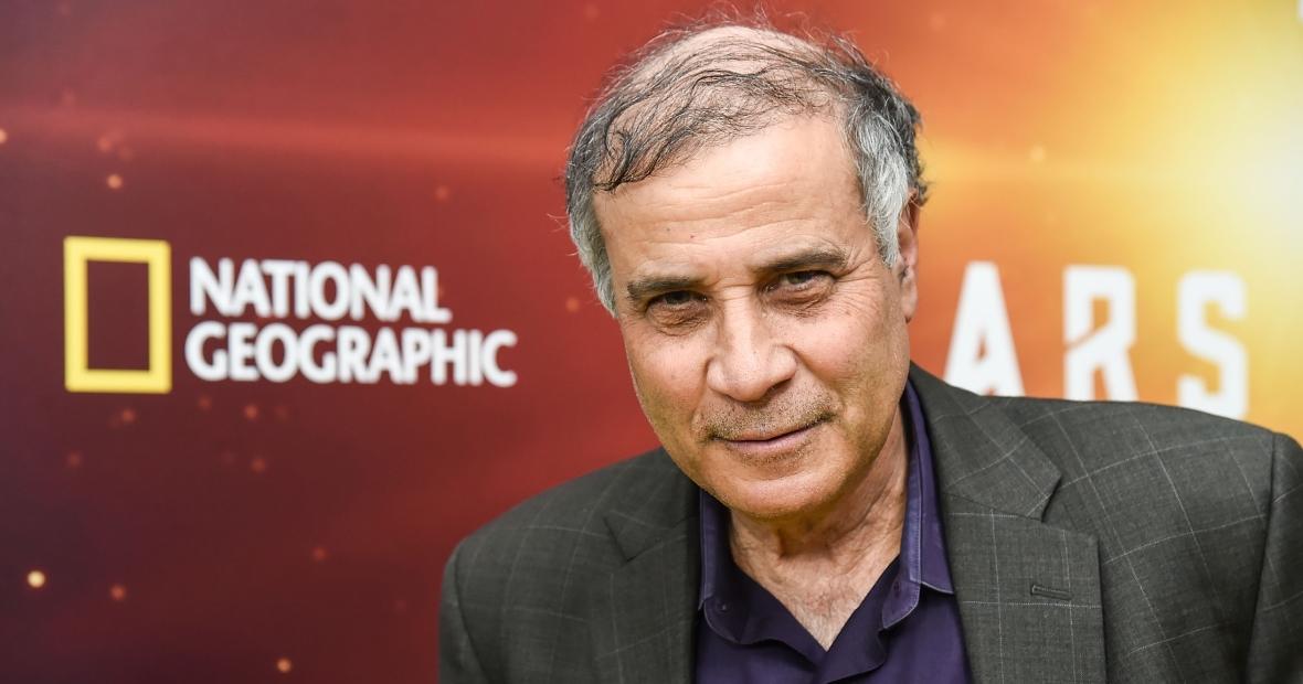 Robert Zubrin, twórca Mars Society, na premierze serialu National Geographic