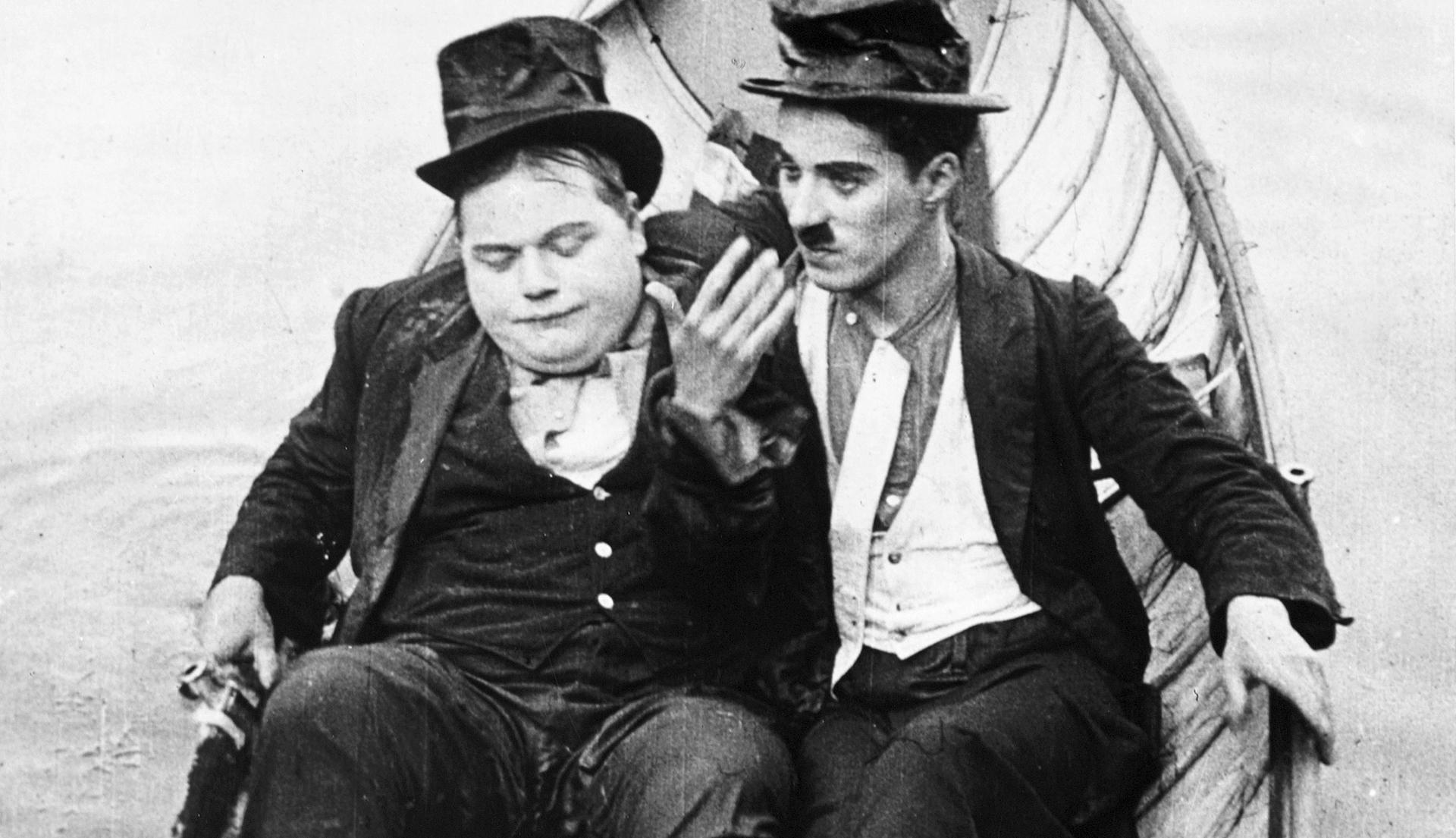 Fatty Arbuckle był protoplastą celebrytów. Obok Charli Chaplin.