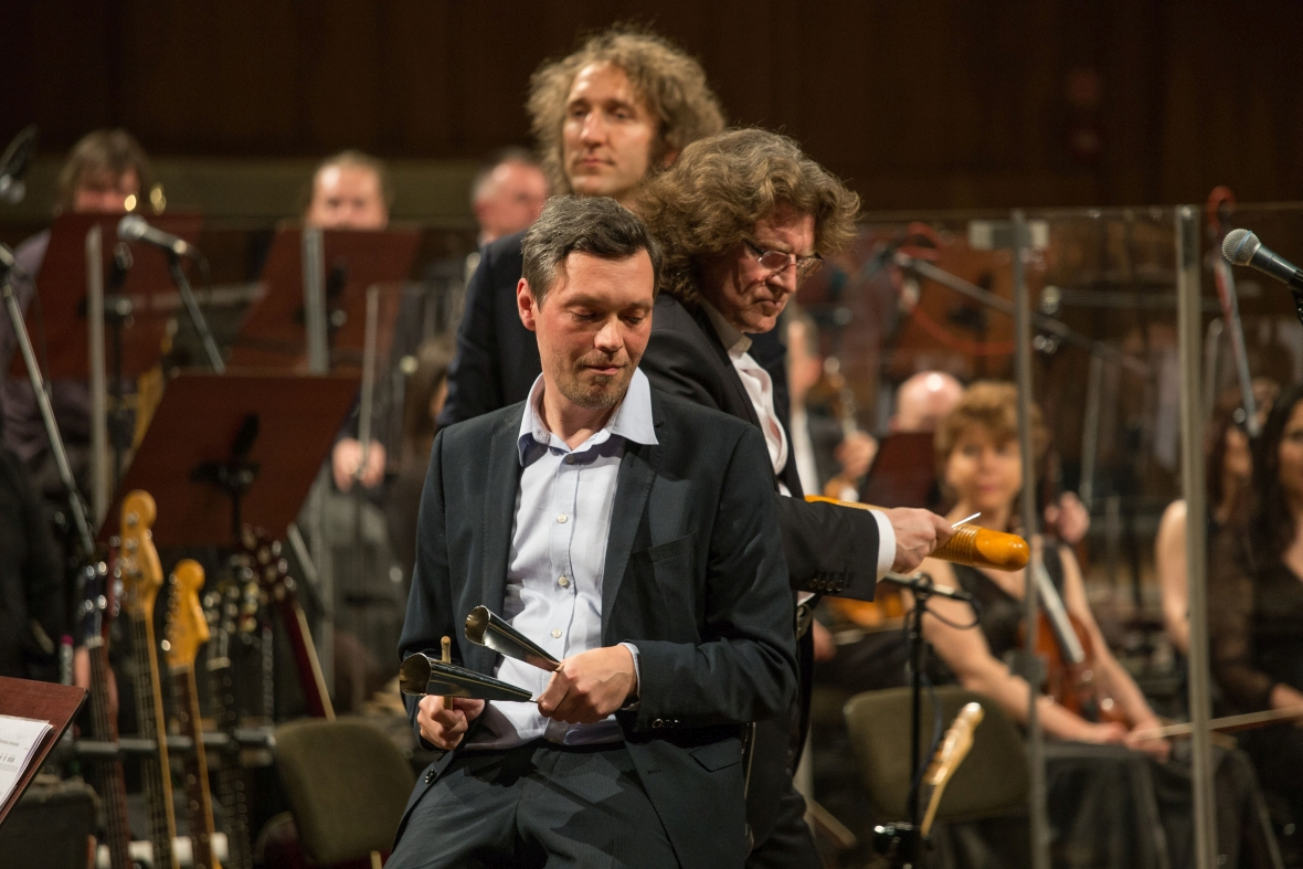Zbigniew Wodecki na koncercie z Mitch & Mitch