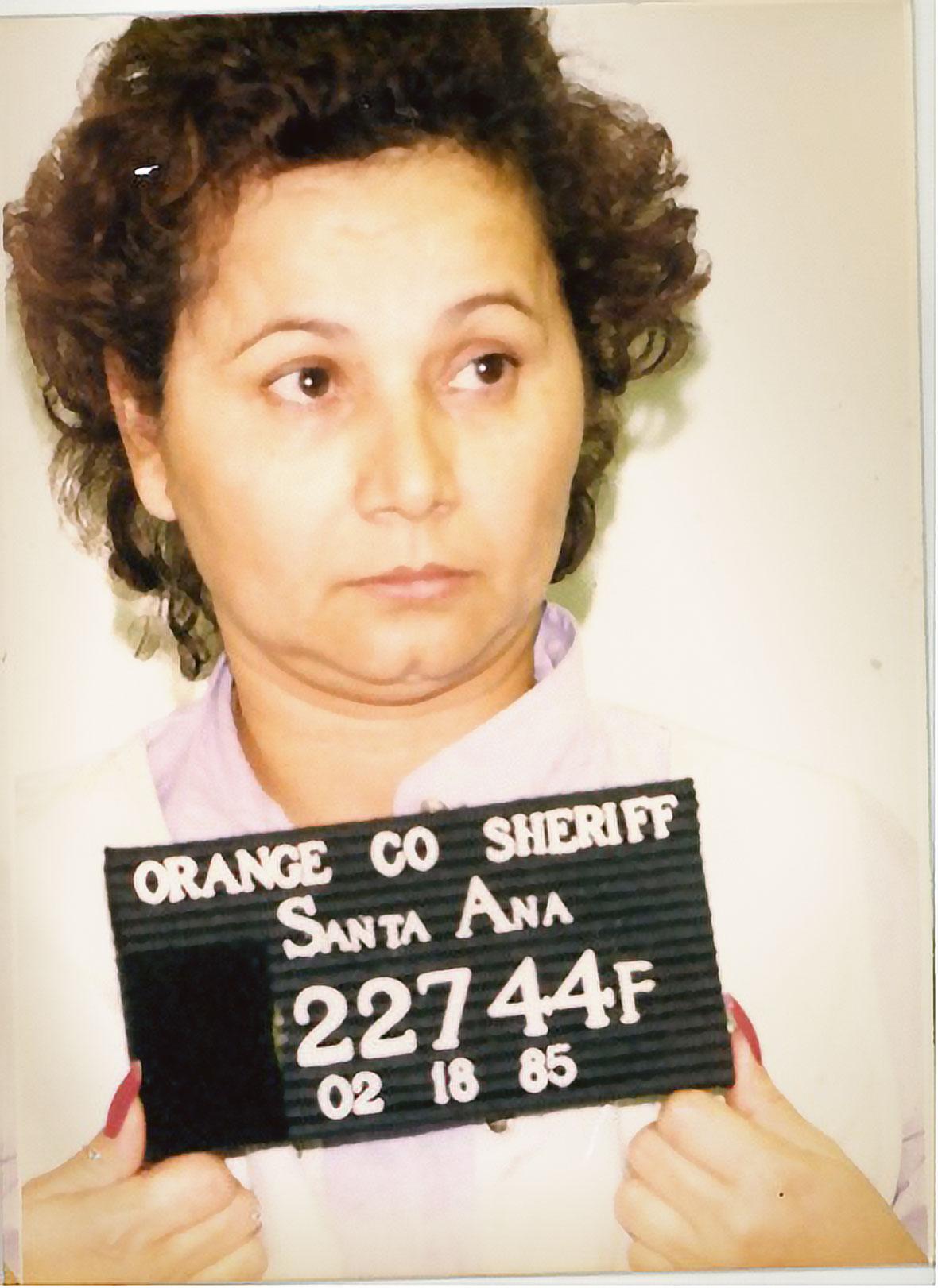 Griselda Blanco na zdjęciu policji w Santa Ana