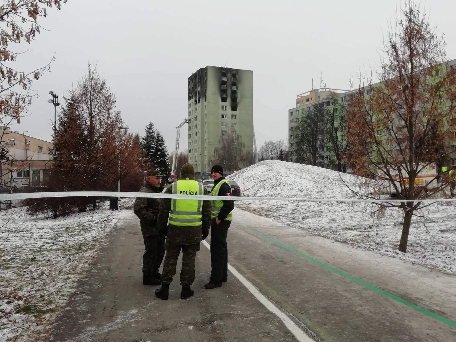 Słowacja. Trzy osoby zatrzymane po wybuchu gazu i pożarze w Preszowie