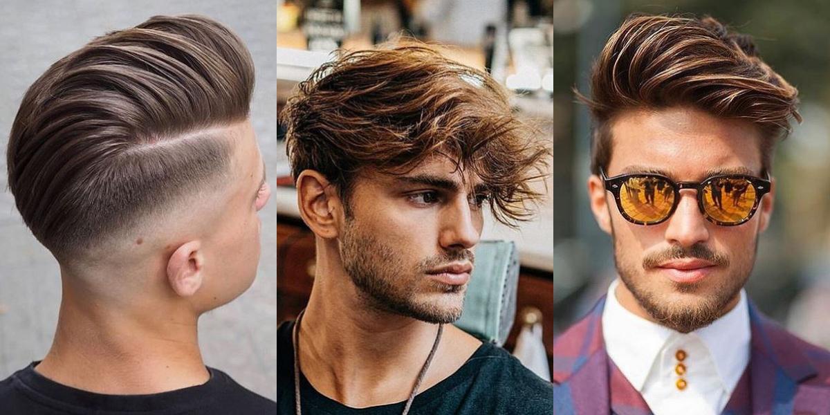 Modne Męskie Fryzury Dla Krótkich średnich I Długich Włosów
