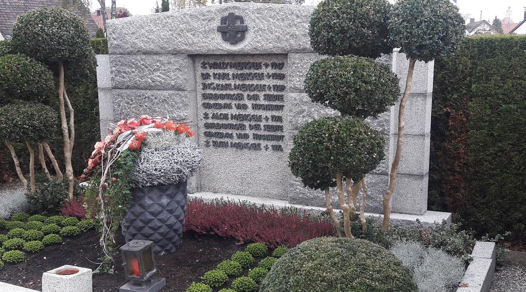 Rodzinny grób klanu Mengele.