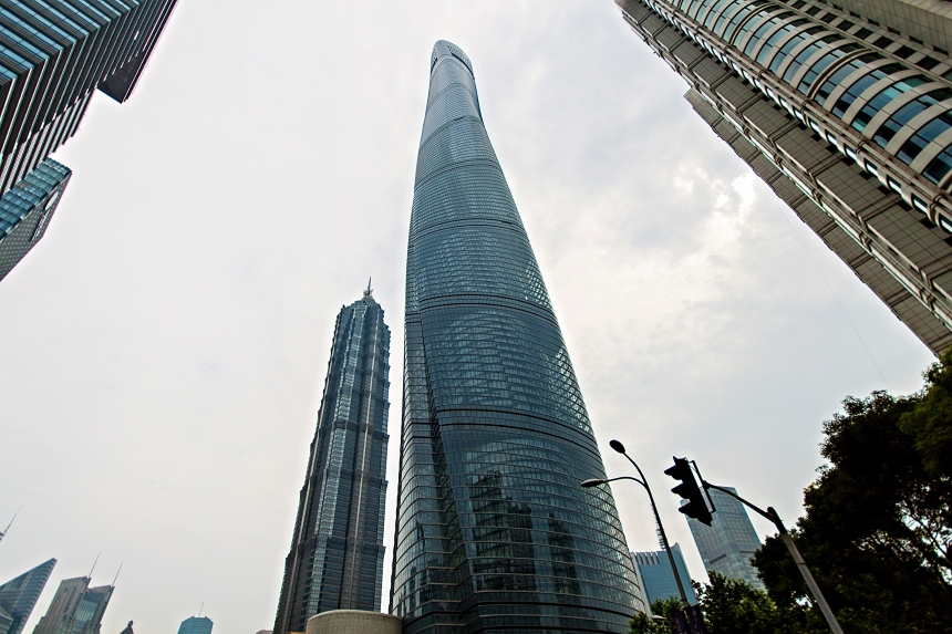 Shanghai Tower, Chiny