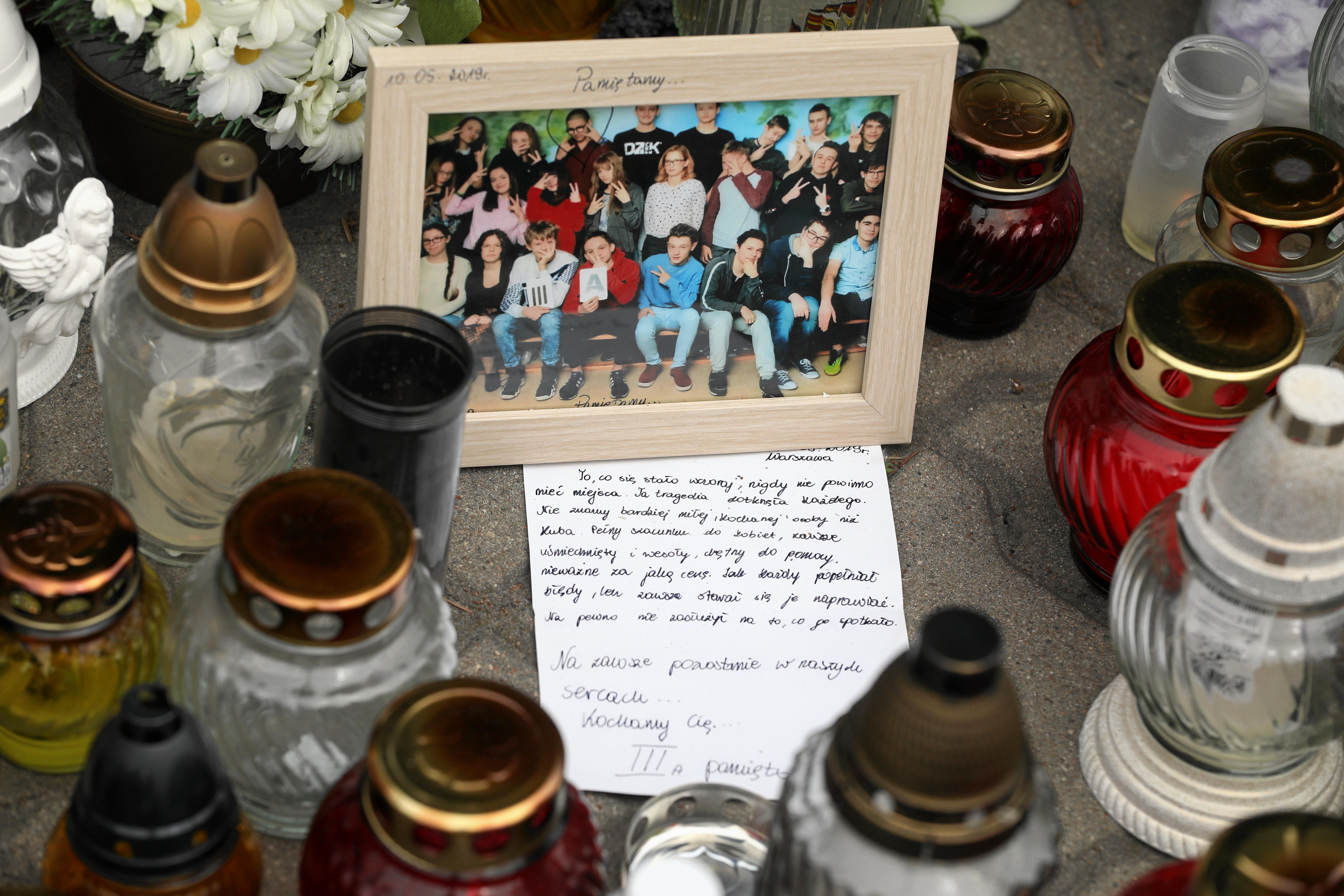 3acd747eeca089 Warszawa Wawer. Poruszający list kolegów zamordowanego Jakuba