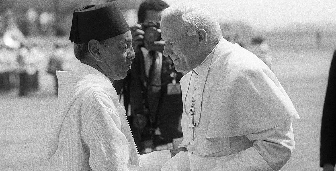 Casablanca. Tam muzułmanie oklaskiwali papieża