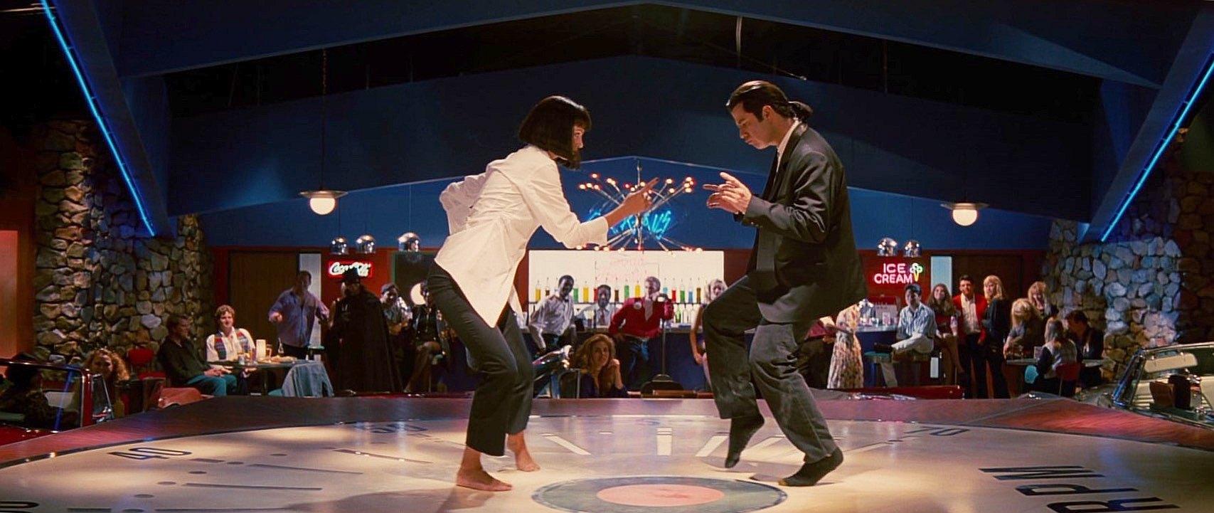Miała być to poniekąd parodia, a i tak stała się jedną z najsłynniejszych scen tańca w historii kina