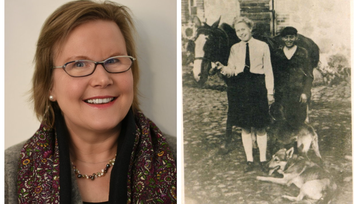 Po lewej Ida Spirek, po prawej jej mama Waltraut jako młoda dziewczyna