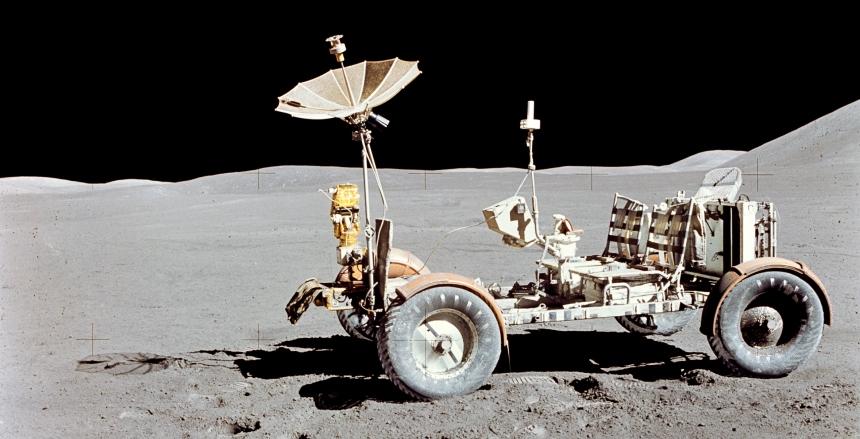 Pierwszy samochód na Księżycu
