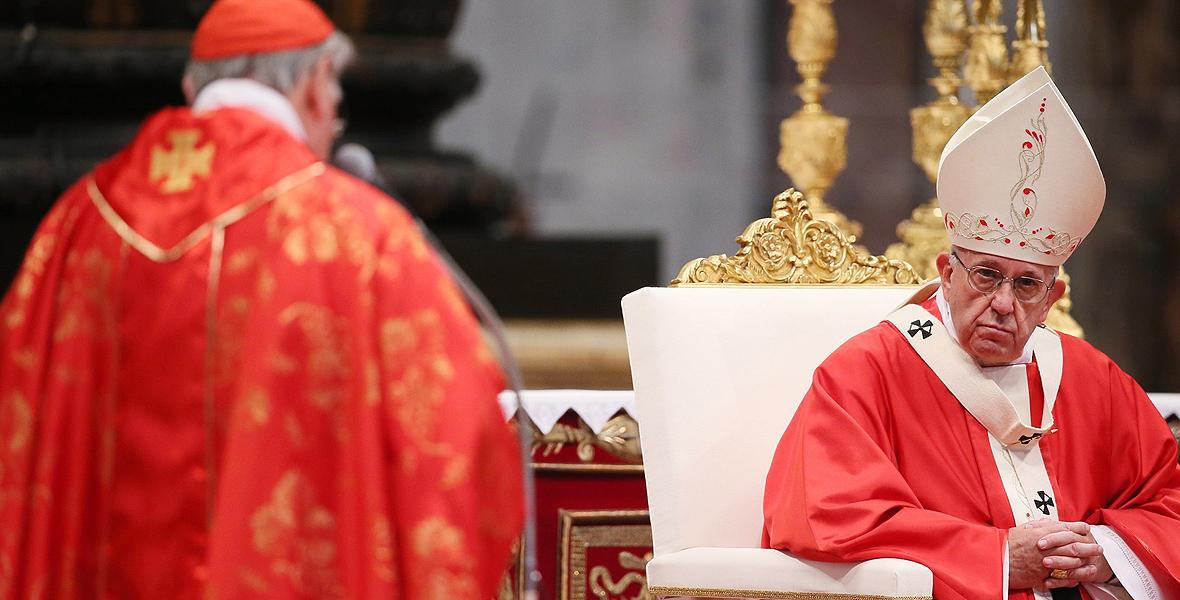 Ojciec Święty samotny w Watykanie